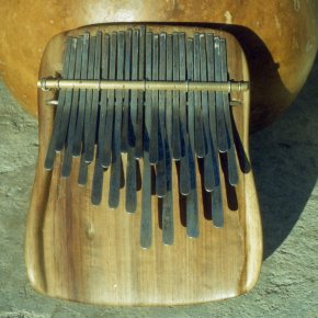 karimba with lower right octave
